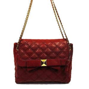 Marc Jacobs Merlot Leather Shoulder Bag$895.00